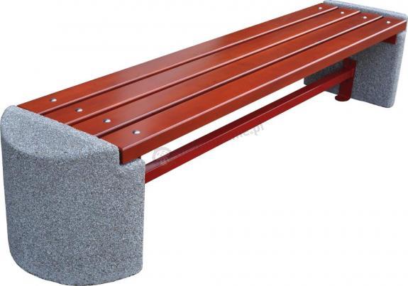 Ławka betonowa bez oparcia OSLO