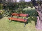 Drewaniana ławka parkowa 180cm