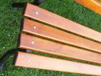 Deski na ławkę ogrodową