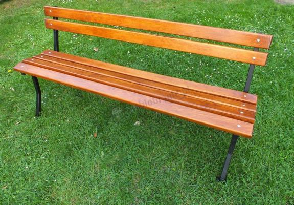 Metalowa ławka miejska Fiemar