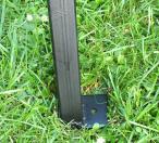 Noga stalowa do ławki ogrodowej