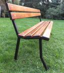 Metalowa ławka miejska 180cm
