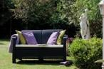 Sofa na balkon Corfu Love Seat Allibert