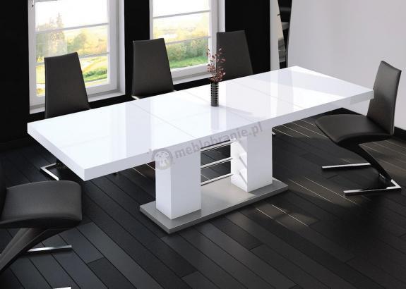 Stół Linosa 2 - Biały połysk