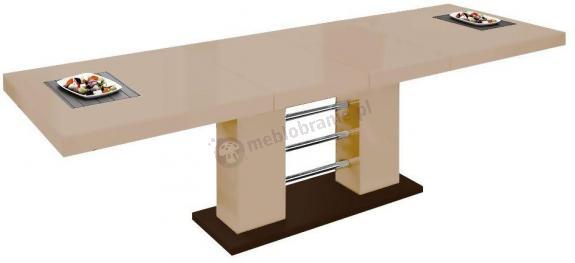 Stół Linosa 2 - Cappucino połysk