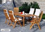 Stół do ogrodu Manhattan z drewna 170/220 opinie
