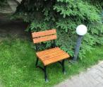Żeliwne krzesła ogrodowe