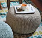 Knit stołek piaskowy