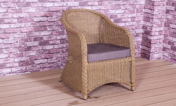 Primo krzesło ogrodowe Technorattan Słomkowe
