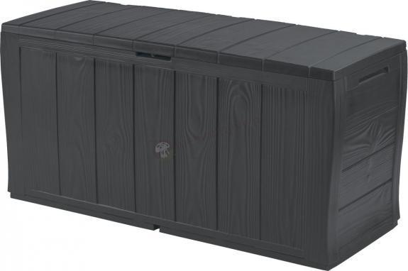 Sherwood Box skrzynia ogrodowa 270L grafitowy