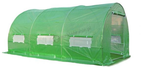 Tunel foliowy 4,5*2m - zielona siatka wzmacniajaca