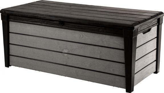 Keter Brushwood Storage Box 455L ciemno szara - skrzynia ogrodowa