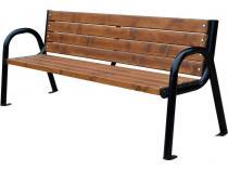 Ławka nowoczesna z rur stalowych 180cm