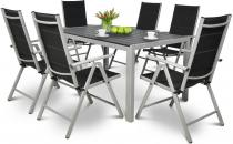 Sydney Silver zestaw ogrodowy aluminiowy