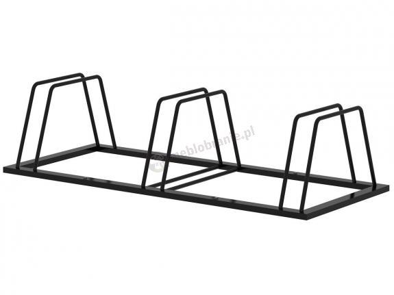 Stojak trapezowy na rowery 3 stanowiska