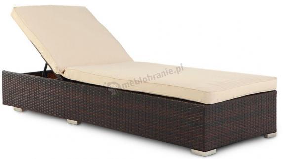 Porto Brown łóżko z technorattanu