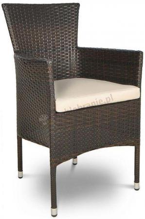 San Remo Brown krzesło ogrodowe
