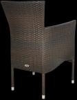 Fotel San Remo brązowy