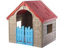Keter Foldable Playhouse - składany domek dla dzieci beżowy