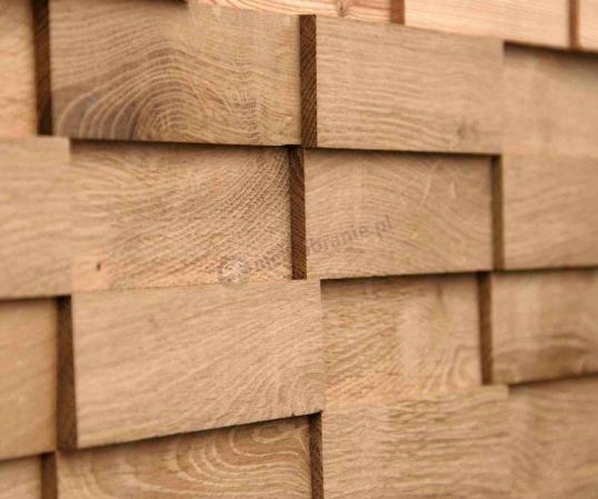 Panele drewniane Dąb cegiełka NATUR *022