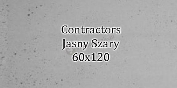 Contractors Jasny Szary 60x120 beton architektoniczny dekoracyjny