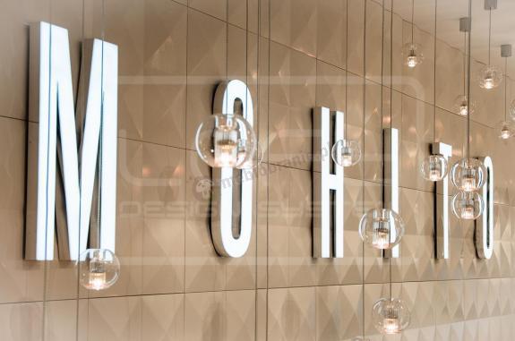 Panele marki Loft Design System pomalowane lakierem.