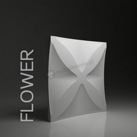 Gipsowe panele 3D na ścianę Dunes Flower