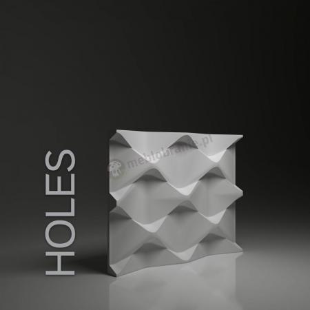 Dunes Holes - Gipsowe panele 3D na ścianę