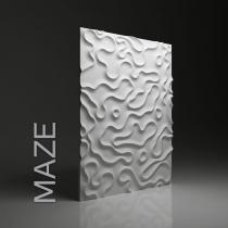 Dunes Maze - Gipsowe panele 3D na ścianę