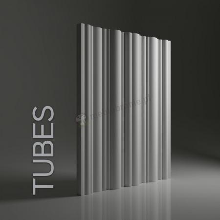 Gipsowe panele 3D na ścianę Dunes Tubes