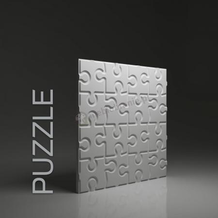 Gipsowe panele 3D na ścianę Dunes Puzzle