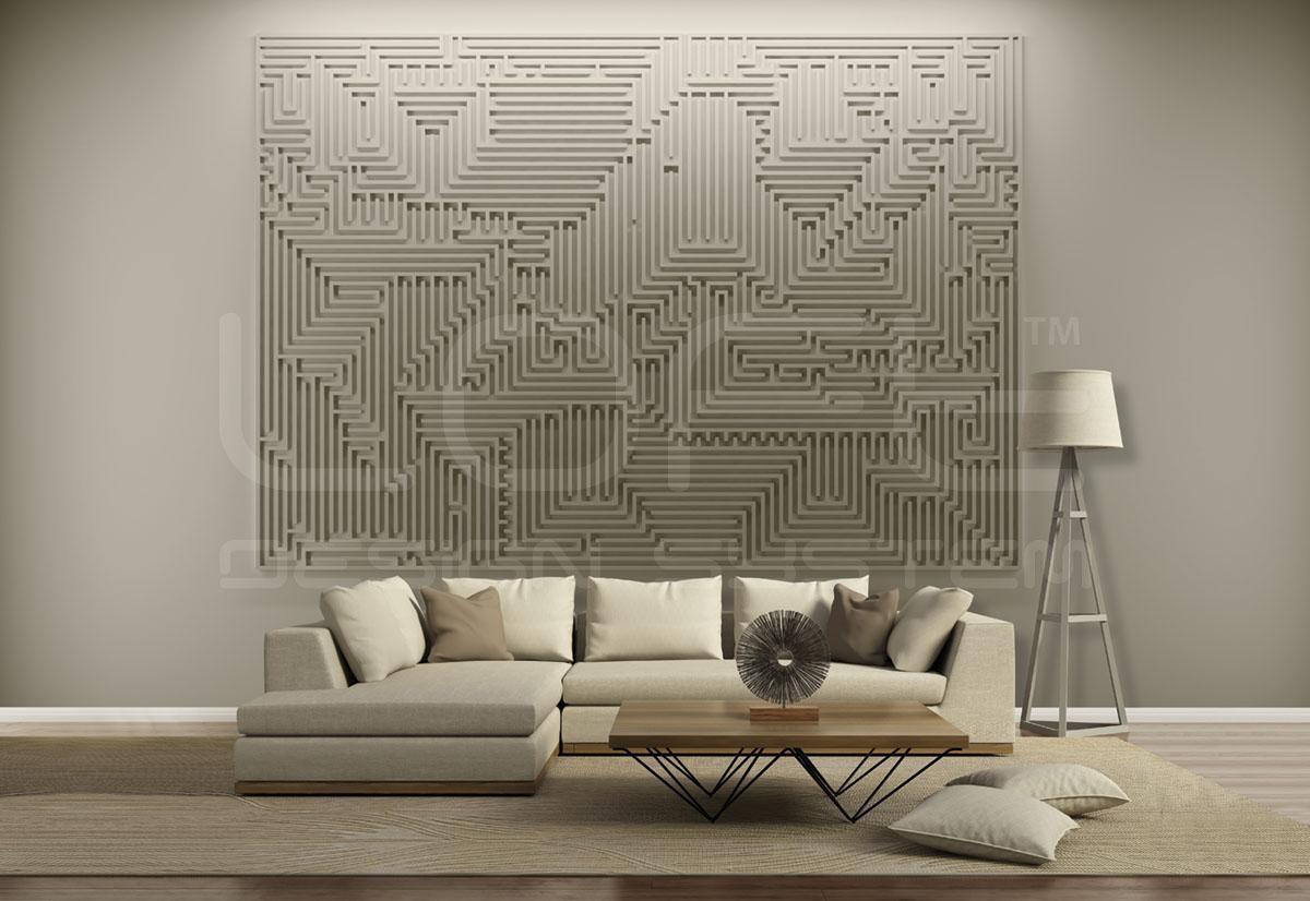 Loft Mural Archetype Panele Gipsowe 3d Meblobraniepl