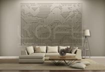 Mural Archetype - Loft Design System - Panele gipsowe 3D