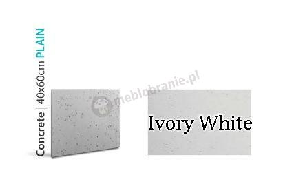 Loft Concrete Ivory White 40x60 - Panele imitujące beton
