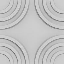 VIA Panels Circle - Panel poliuretanowy 3D