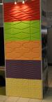 Ścienne panele MDF 3D model 002