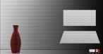 Ścienne panele MDF 3D model 005