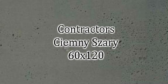 Contractors Ciemny Szary 60x120 beton architektoniczny dekoracyjny