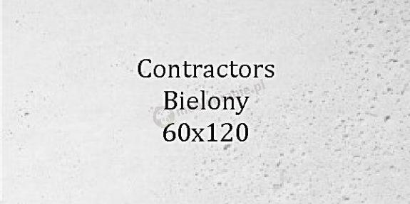 Contractors Bielony 60x120 beton architektoniczny dekoracyjny