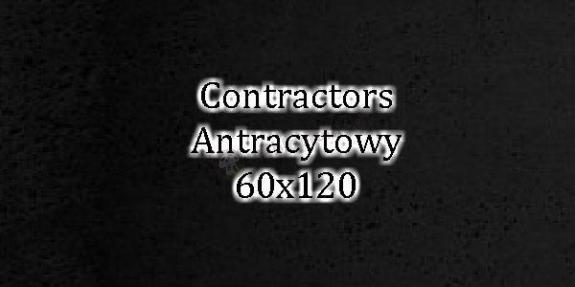 Contractors Antracytowy 60x120 beton architektoniczny dekoracyjny