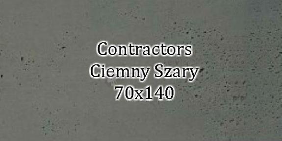 Contractors Ciemny Szary 70x140 beton architektoniczny dekoracyjny