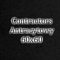 Contractors Antracytowy 60x60 beton architektoniczny dekoracyjny