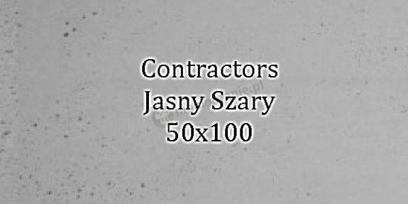 Contractors Jasny Szary 50x100 beton architektoniczny dekoracyjny