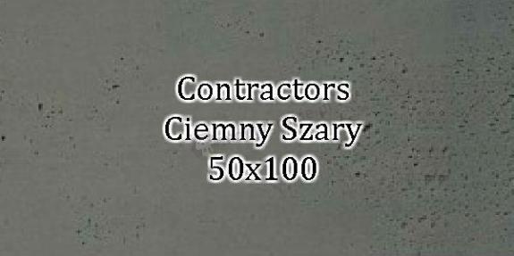 Contractors Ciemny Szary 50x100 beton architektoniczny dekoracyjny