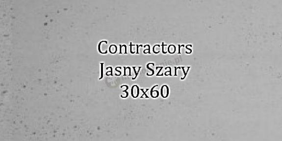 Contractors Jasny Szary 30x60 beton architektoniczny dekoracyjny
