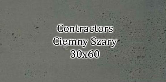 Contractors Ciemny Szary 30x60 beton architektoniczny dekoracyjny