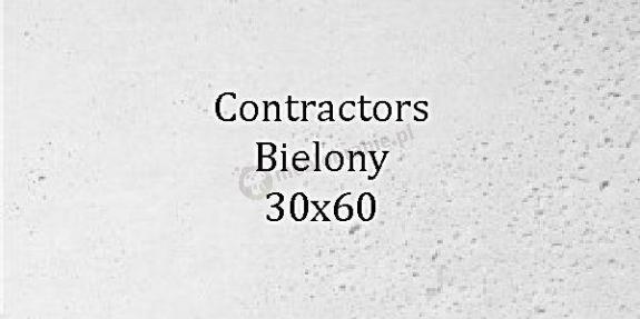 Contractors Bielony 30x60 beton architektoniczny dekoracyjny