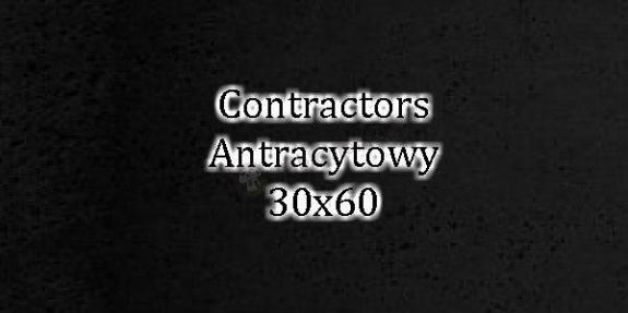 Contractors Antracyt 30x60 beton architektoniczny dekoracyjny