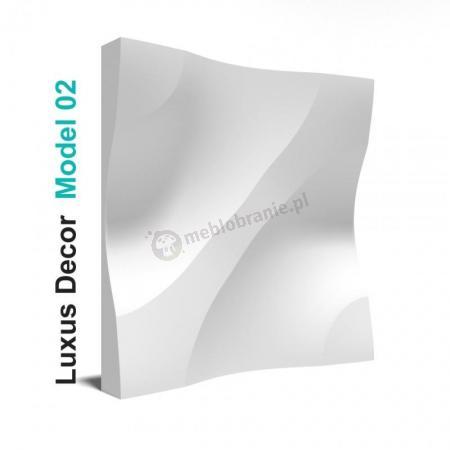 Panele gipsowe 3D - Luxus Decor Model 02