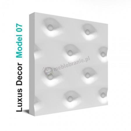 Panele gipsowe 3D - Luxus Decor Model 07